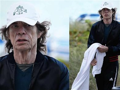 Mick Jagger Relaxes in Miami After Mystery Illness Postpones Tour