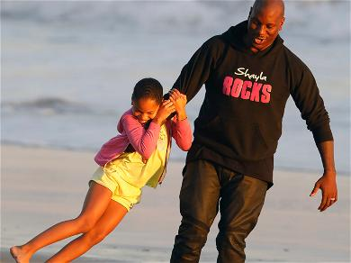 Tyrese Spends the Day with His Daughter