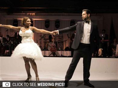 Serena Williams' Gorgeous Wedding Photos Revealed