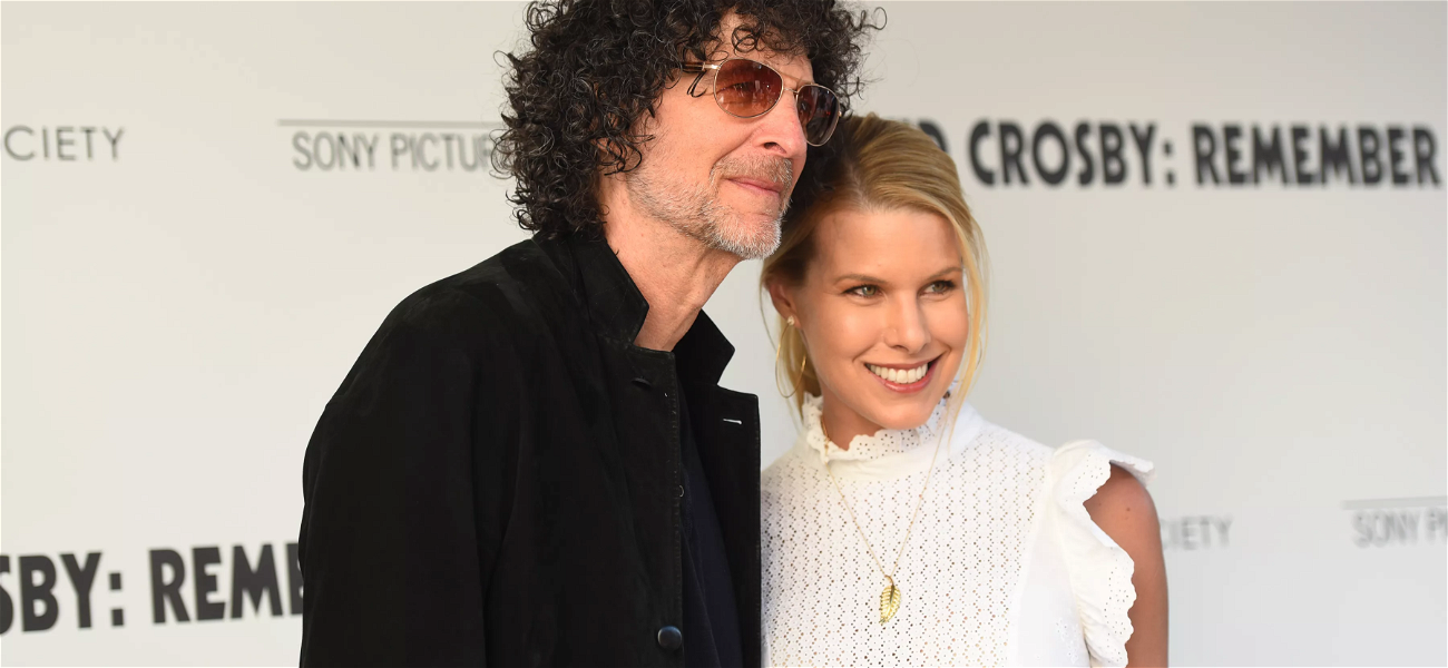 Howard Stern's Wife, Beth, Shares STUNNING Photo Looking Like A Hot Mother Nature!