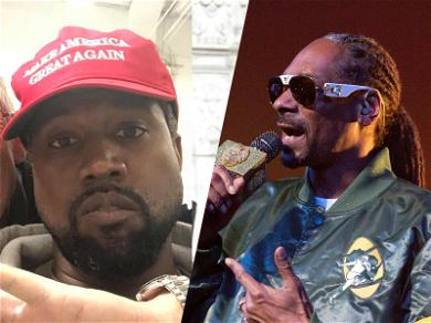 Snoop Dogg Trolls Kanye West: You Need to Get Out!