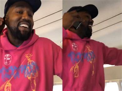 Kanye West Celebrates His and 6ix9ine's #1 Song On the PJ While Tekashi Sits in Jail