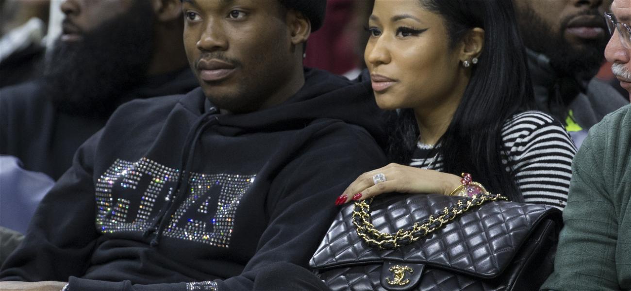 Meek Mill Breaks Silence On Nicki Minaj's Husband Being Arrested