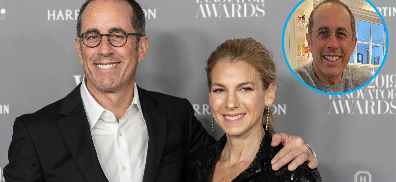 Jerry Seinfeld's Wife Reveals He's Misses The Stage: 'He Just YELLS YELLS YELLS. ALL. DAY.'