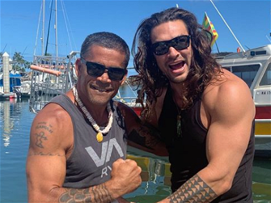 Jason Momoa Is Being Body-Shamed For His 'Dad Bod' While On Vacation