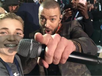 Super Bowl 'Selfie Kid' Gets Epic Shot with Justin Timberlake