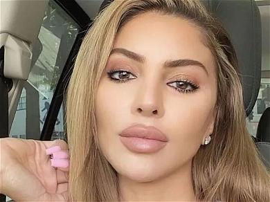 Larsa Pippen Shows Her 'Pretty Little Thing' In Skintight Braless Dress