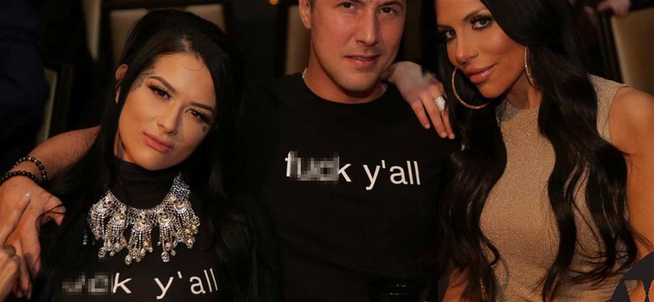 Pornstars Wear 'F*** Y'all' Shirts to Honor August Ames and Protest Bullying at Awards Show