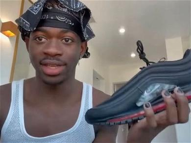 Lil Nas X Trolls  Lawsuit  Filed Against Him Over Nike 'Satan Shoes'