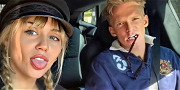 Miley Cyrus & Cody Simpson Role Play While Singing 'Barbie Girl'