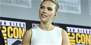 Scarlett Johansson Shows Off Her Tattoos At Comic-Con
