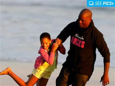 Tyrese Spends the Day with His Daughter After Custody Victory