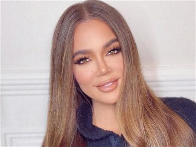 Khloé Kardashian Debates Eating Reese's Or Fitting In Orange Bikini Set