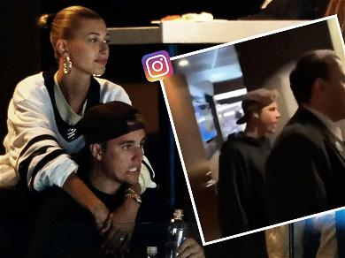 Justin Bieber Can't Handle the Heat After Toronto Maple Leafs Swept by Boston