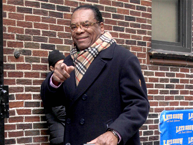 Cedric The Entertainer, Ice Cube, & Marlon Wayans Pay Their Last Respects To John Witherspoon