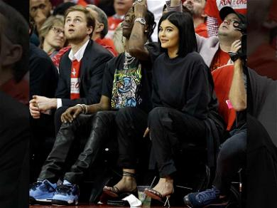 New Parents Kylie Jenner and Travis Scott Have Courtside Date Night