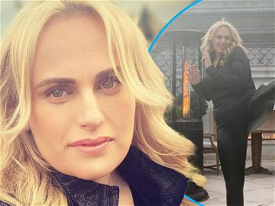 Rebel Wilson Shares Incredibly Beautiful Selfie & Delivers High-Kick After Injury