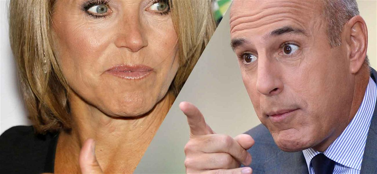 Katie Couric is Incredibly Upset Over Matt Lauer Scandal, But Not Ready to Talk Yet