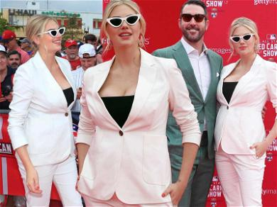 Pregnant Kate Upton Proudly Sports Baby Bump for First Time!??