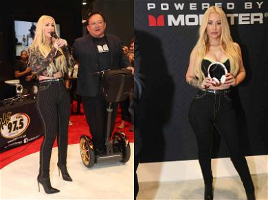 Iggy Azalea Shows Off Her Cans for Monster Super Bowl Partnership