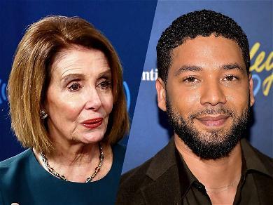 Nancy Pelosi Deletes Tweet Supporting Jussie Smollett While Donald Trump Jr. Goes on the Attack