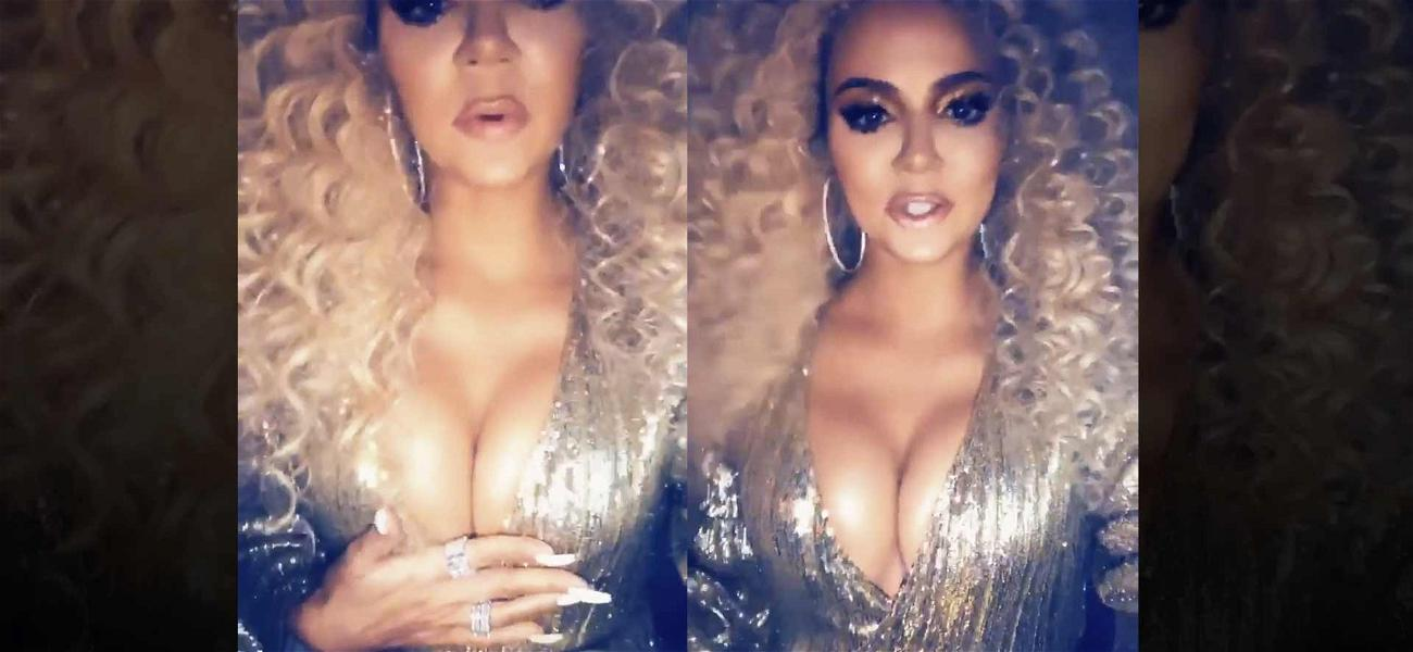 Khloé Kardashian Gets Divided Reactions for Outfit at Diana Ross' Birthday Party