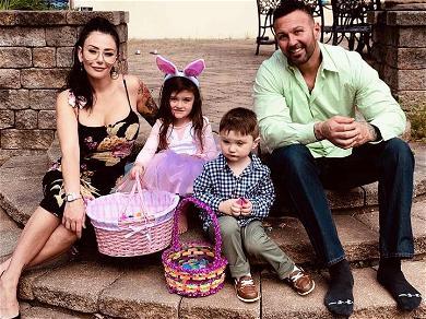 JWoww Spends Easter Sunday with Estranged Husband Roger Mathews