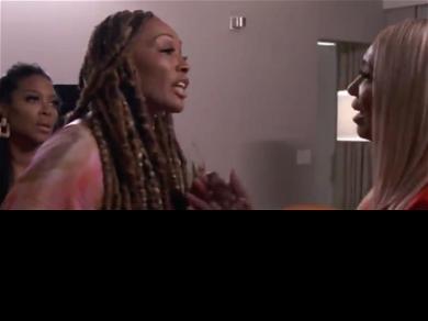 RHOA' Star NeNe Leakes Fights Kenya Moore In Epic Hotel Room Showdown