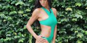 Candace Smith Busts Out The Swimsuit Again