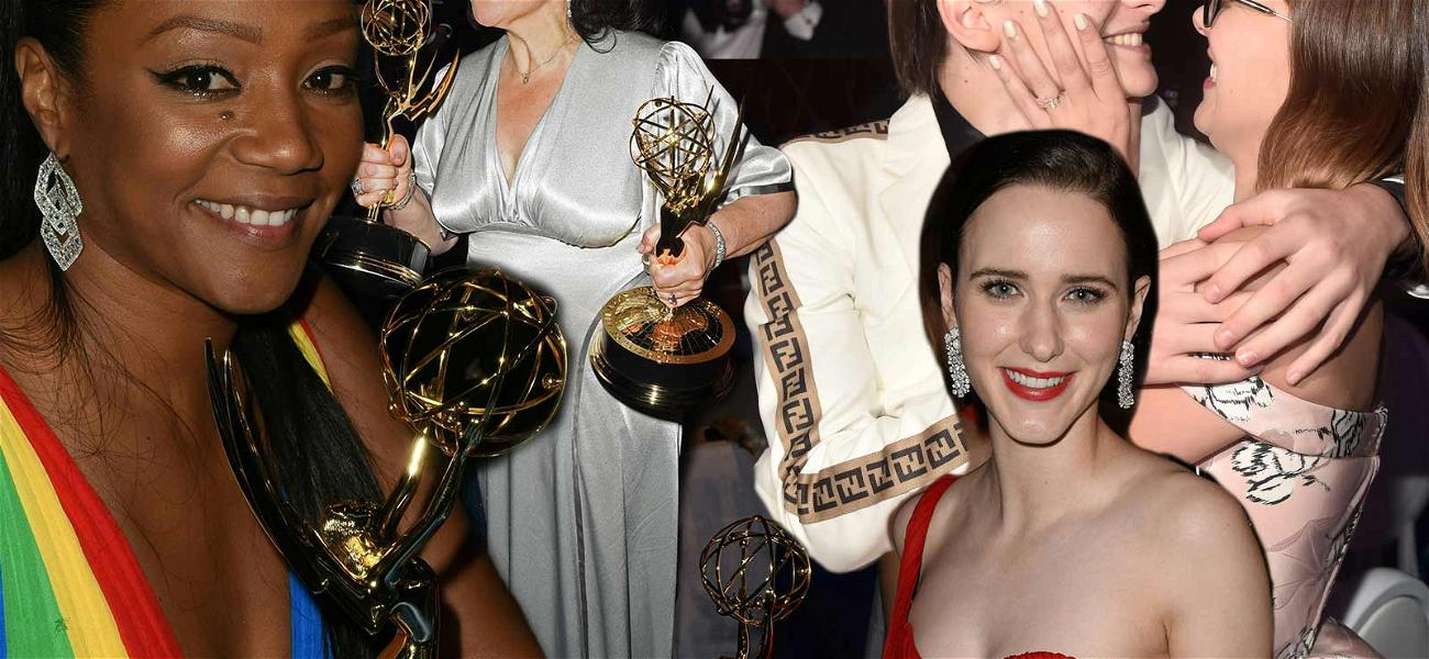 Celebrities Let Loose Inside The Exclusive Emmy After-Parties