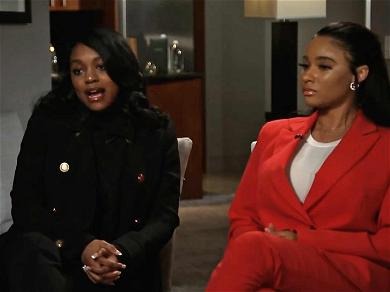 R. Kelly Stood Behind His Girlfriends During Gayle King Interview, Tried to Stop Questioning