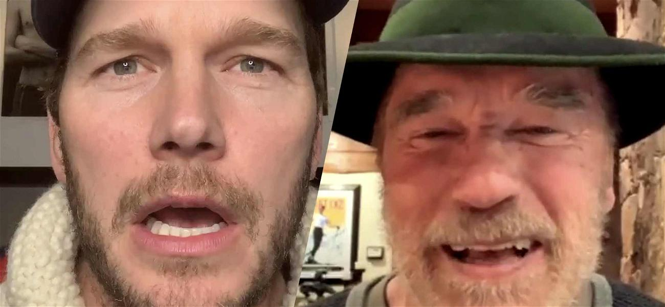 Chris Pratt Trolled By Father-In-Law Arnold Schwarzenegger, He Called Him Chris Evans!