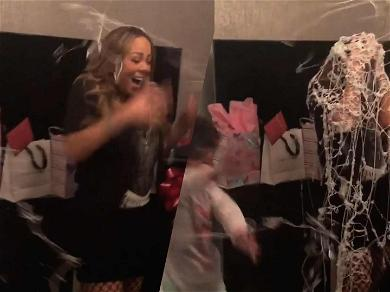 Mariah Carey Gets Covered in Silly String for 49th Birthday