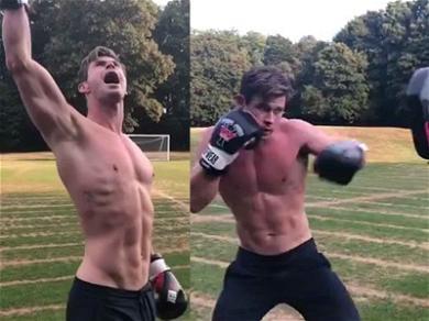 Chris Hemsworth Training Hard for 'Men In Black' Spinoff