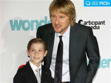 Owen Wilson & Jason Tremblay Were Adorable at the 'Wonder' Premiere