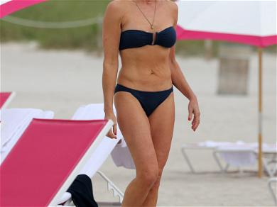 'RHONY' Star Luann de Lesseps Flaunts Her Curves in Miami