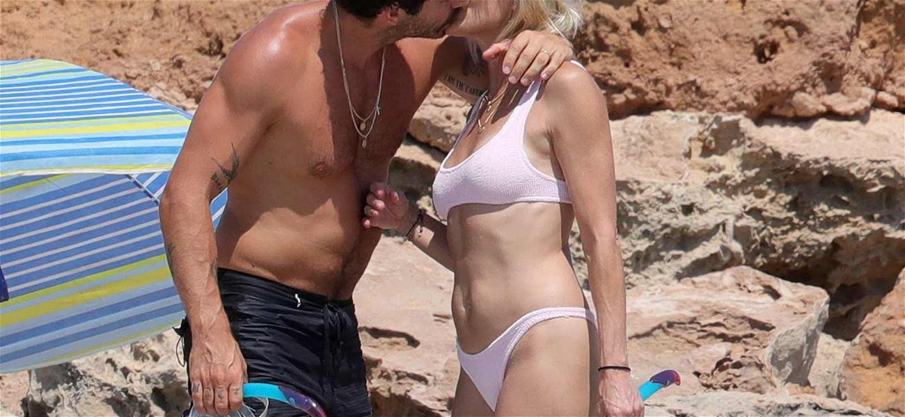 Robin Wright & Clément Giraudet Pack on the PDA During Honeymoon in Ibiza