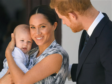 Meghan Markle & Prince Harry Sue Paparazzi Over Backyard Drone Photos Taken Of 14-Month-Old Son