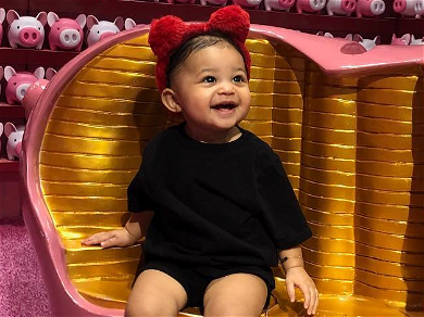 Stormi Seen Dancing to Travis Scott's Performance, But Who's the Mystery Girl?