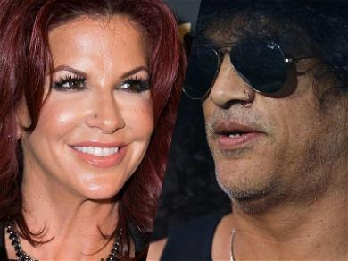 Slash Says Estranged Wife is Dragging Her Feet in Divorce, She Says Rocker Is Hiding Money