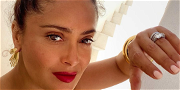Salma Hayek Is Pretty In Pink With Gorgeous 'Frida' Throwback Photo