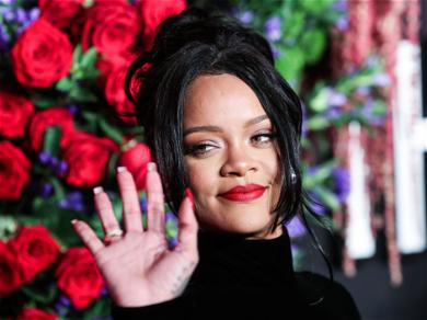 Rihanna Causes Chaos After Holding Newborn Amid Pregnancy Rumors