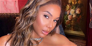 Tamar Braxton Says She Is Sober, Flaunting Rock-Hard Abs In Skintight Spandex!