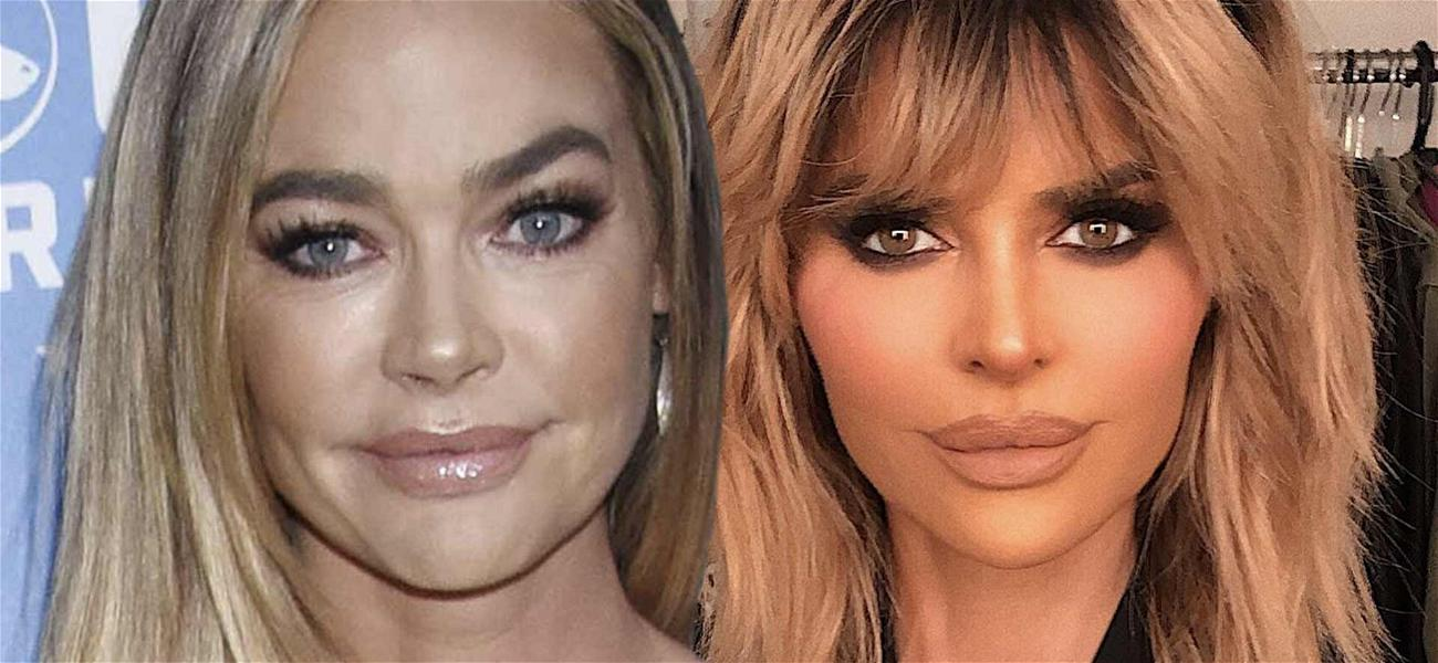 'RHOBH' Star Denise Richards Replies To Lisa Rinna 'Snake' Comment