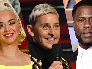 Katy Perry & Kevin Hart Trashed For Defending Ellen, 'What About The People Coming Forward?'