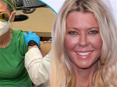 Tara Reid Encourages Vaccination But Says It 'Felt Like I Got Shot'