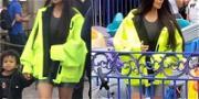 Kim Kardashian Goes the Opposite of Undercover During Family Trip to Disneyland