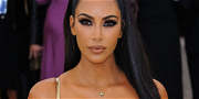 Kim Kardashian Unrecognizable With Zero Makeup In Unmade Bed