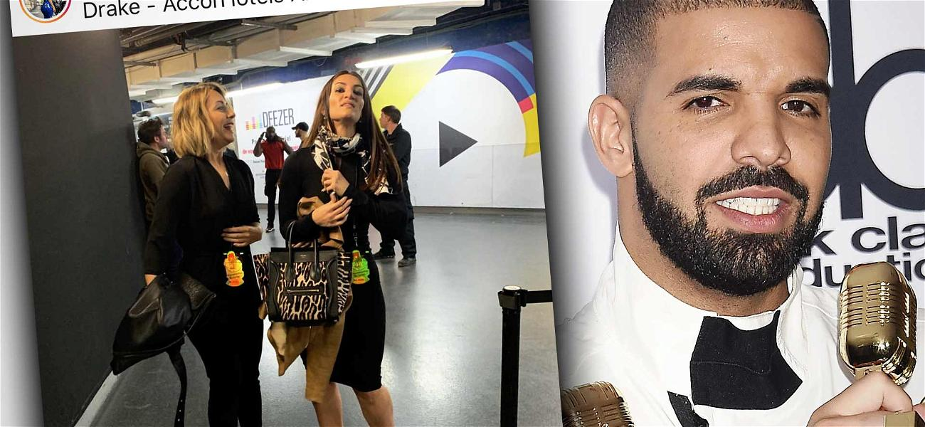 Drake's Baby Mama Shows Up to His Paris Concert, Given VIP Treatment