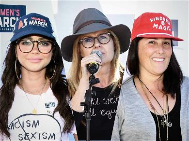 Sarah Hyland, Connie Britton & Ricki Lake Lead the Way During Women's March in L.A.